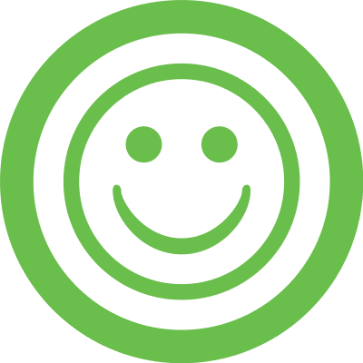 green web smiley good